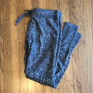 Gap Body Grey & Black Toned Lounge Pants